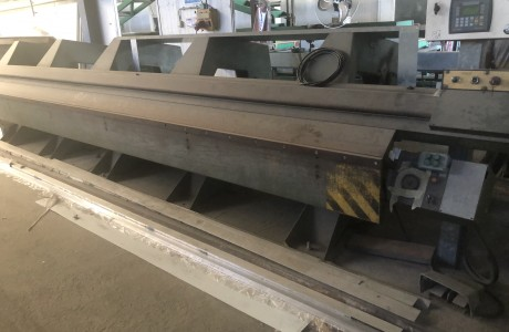 TENSOL folding machine 6000 mm