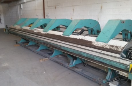 PREMELL folding machine 6250x1.25 mm