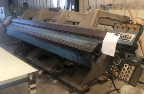 TENSOL 4000 mm folding machine