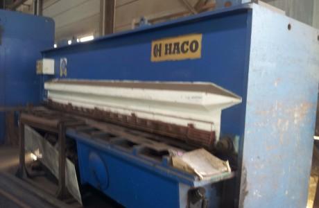גיליוטינה הידראולית HACO HSL 4000X13 1991