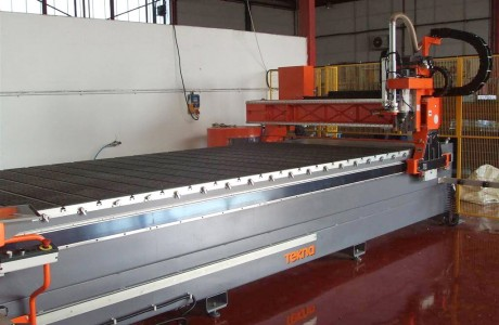 CNC router TEKNA for Auminum 4000x2000 mm