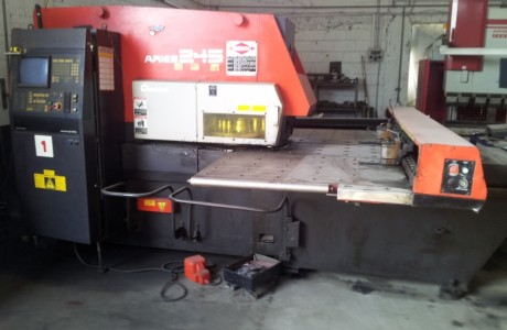 AMADA ARIES 245 CNC punching
