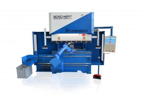 ברק פרס CNC עם רובוט GIZELIS BOSCHERT