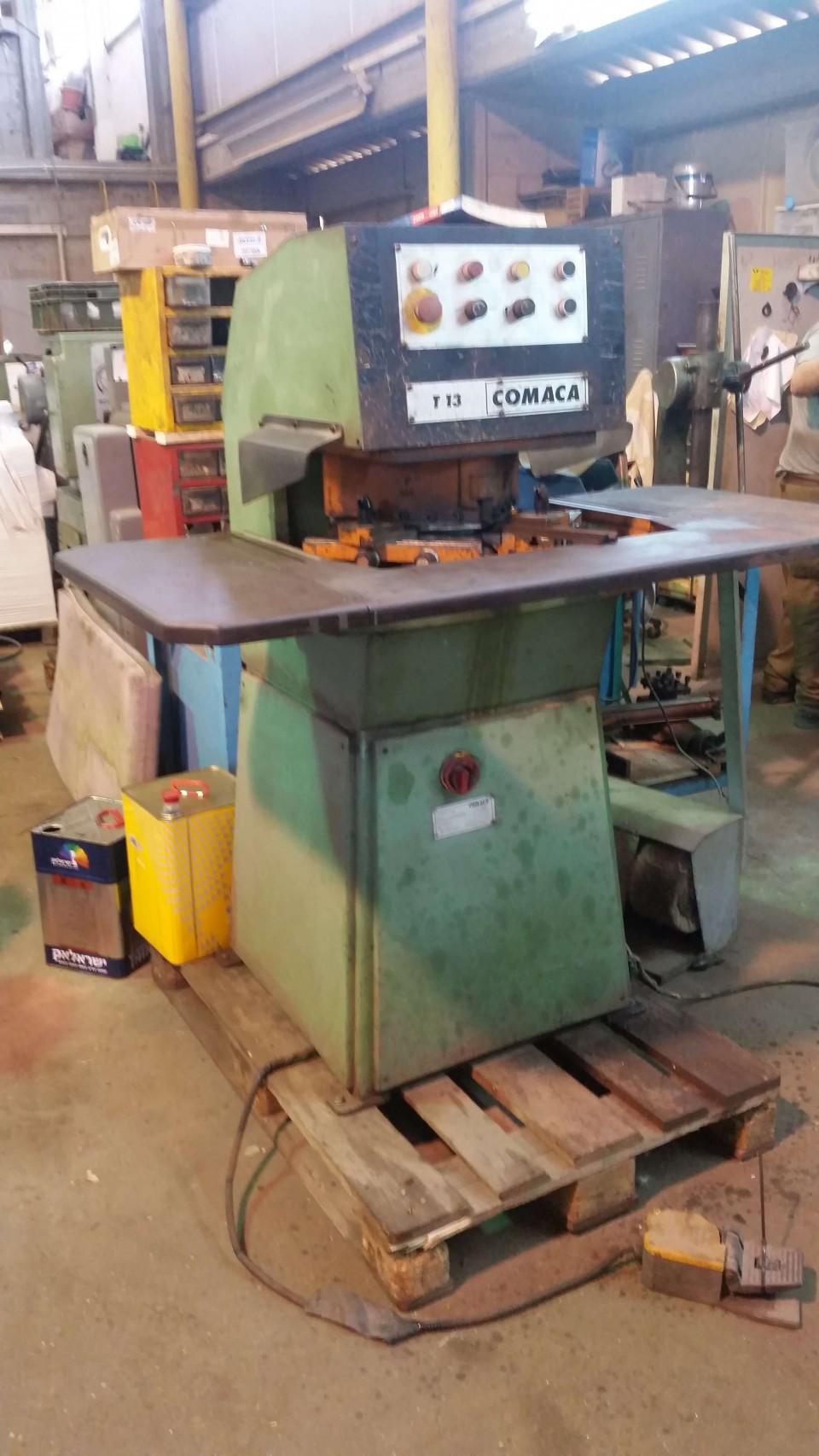 COMACA notching machne adjustable angle