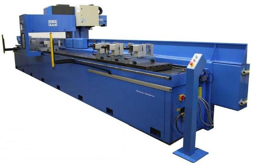 מקדחה מכרסמת CNC, תוצרת CMA ספרד  לעבודות קידוח * כרסום * הברגות * הפשלה